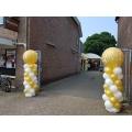 """Ballonnenpilaar Top-ballon """"Bedrukt"""", per stuk"""