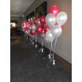Trosje van 6 Heliumballonnen