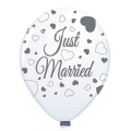 "Helium Ballonnen ""Bedrukt""; ""Just Married"""