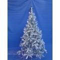 Huur 1x Besneeuwde Dennenboom/Kerstboom (kunst), 2,10 mtr